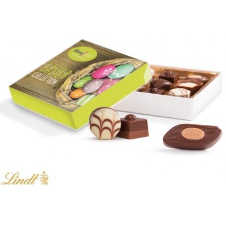 Mini chokolader i gaveæske   10x10x2,5cm   Lindta89