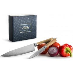4 stk kokkeknive fra Sagaform  5003452A38