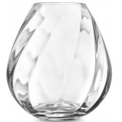 Elva vase i klar glas  34ELVA000A400