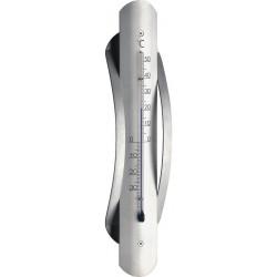 Inden -og udendørsthermometer aluminium 122044a162