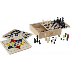 klassiske spil i trææske  4353a32