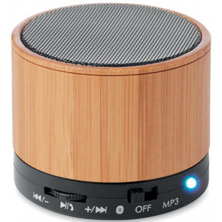 Fin Bluetooth højtalere med logo reklame tryk AC-34