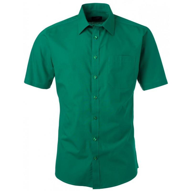 5744b565 skjorter med korte ærmer og logo tryk - kortærmede skjorter med logo