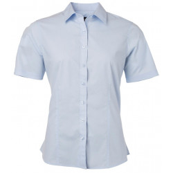 James & Nicholson kortærmede poplin skjorter JN680A03