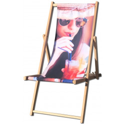 Strandstole med Jeres reklame   stola276