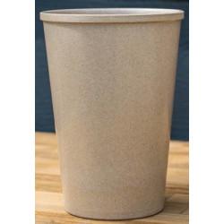 Krus lavet af risskaller og blade 435 ml.  risa178