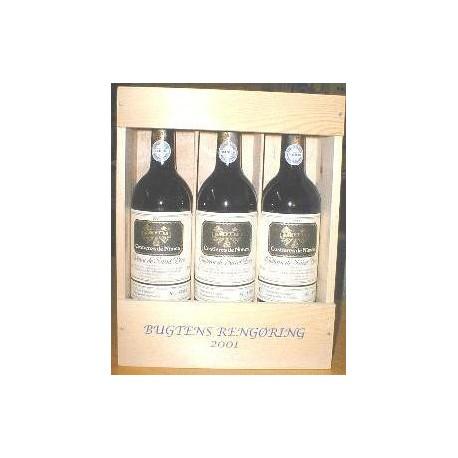 Trææske til vin, incl ilægning af vin