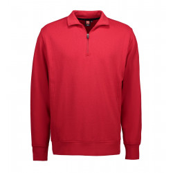 ID 603 Game polo sweatshirts med stolpelukning 603A34