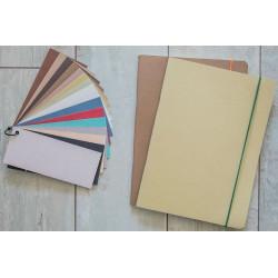 Notesbøger fremstillet af planteaffald  agrinoa178