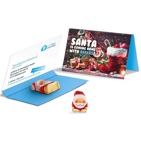 chokolade Julemand i papomslag 48192000A89
