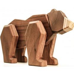 Bjørn, magnetisk træ samlesæt 008A405