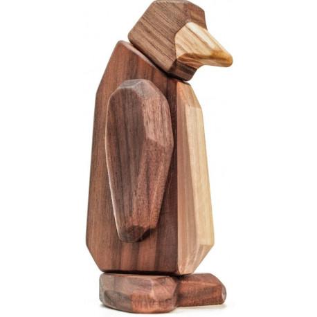 Pingvin, magnetisk træ samlesæt 011A405