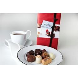 Gudrun gaveæske med belgisk chokolade