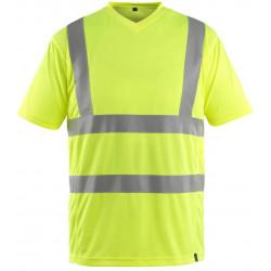 Sikkerheds T-shirts med lomme klasse 2. 50113-949A412