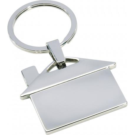 Metal nøglevedhæng, hus