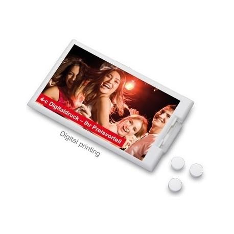 Mint pastiller i hævekortformat