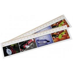 Linealer med farvefoto, 30cm, 39121A255