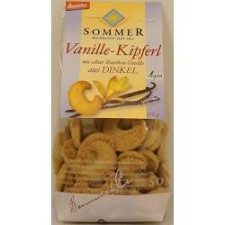 Økologisk spelt vaniliehorn 400001A28