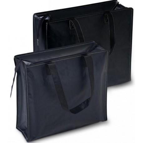 Kraftig nylon taske med lynlås