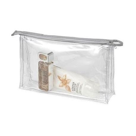Transparent toilettaske