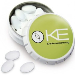 Klick-Klack dåser med pastiller
