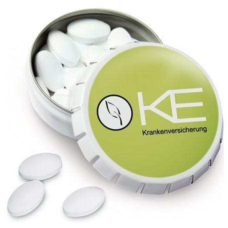 Klick-Klack dåse med pastiller