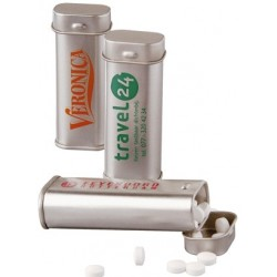 Tin dåser med pastiller
