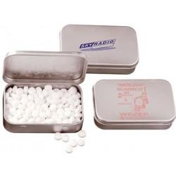 Blikdåse med pastiller