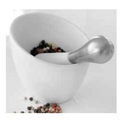 mortere til stødning af krydderier
