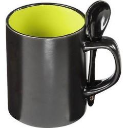 Keramik krus m. ske, 0,3 ltr