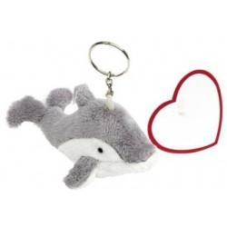 Delfin plys figur,