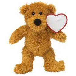Plys teddybjørn ca 200x155x80mm,