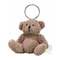 Nøglering med teddy bjørn, 20 gram,