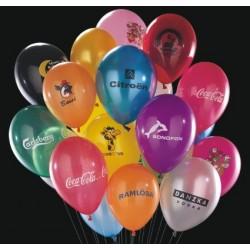 Ballon, incl luxustryk, 26cm Ø. 9RDTSA137