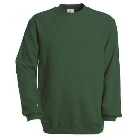 B&C rundhalset sweatshirt