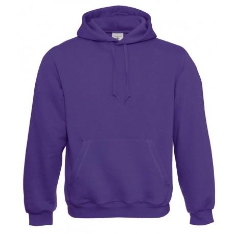 B&C Unisex hætte sweatshirt