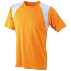 Herre løbe t-shirts med v-hals JN397a03