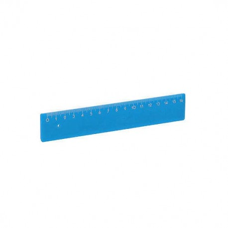 Lineal 16 cm.