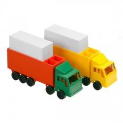 Bordstandere lastbiler med notespapir