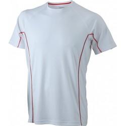 Løbe t-shirts med reflekstryk JN422fa03