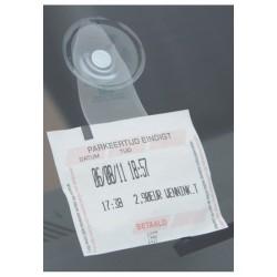 Parkeringsbillet holder