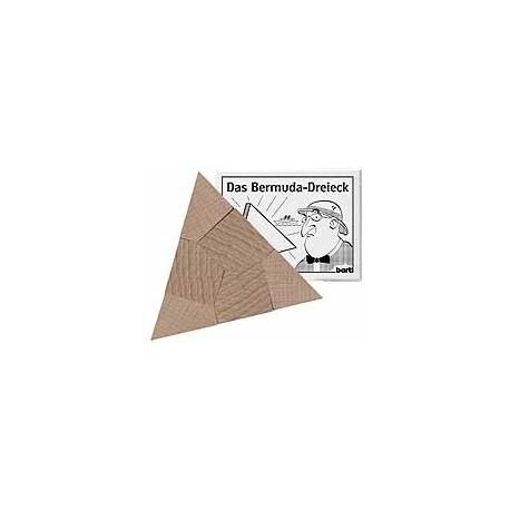 Bermude trekant i træ.