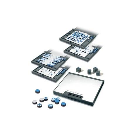 Magnetisk multispil med 5 spilleplader