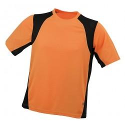 Herre løbe t-shirt