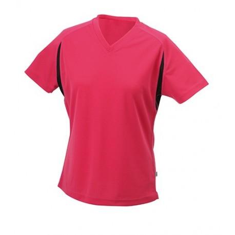 Dame løbe t-shirt