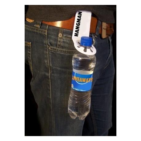 Flaskeholder med bælteclip