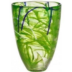 Kosta Boda Contrast vaser. H 20 x ø15. Design Anna Ehrner.
