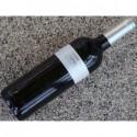 Tryk på vinflasker